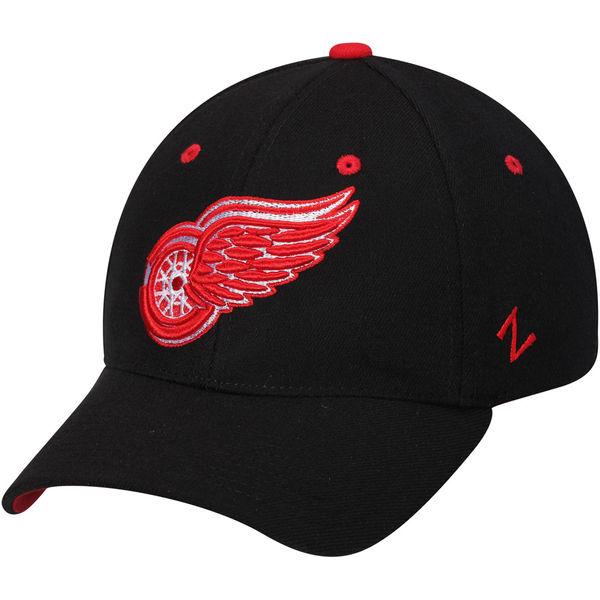Kšiltovka Detroit Red Wings Zephyr Breakaway Flex černá Velikost: S