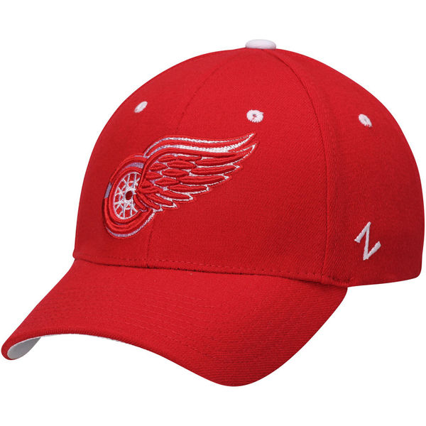 Kšiltovka Detroit Red Wings Zephyr Breakaway Flex červená Velikost: XL