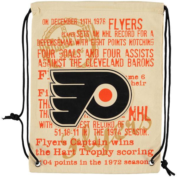 Forever Collectibles NHL vak Philadelphia Flyers Historic Canvas Drawstring
