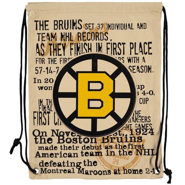 Forever Collectibles NHL vak Boston Bruins Historic Canvas Drawstring