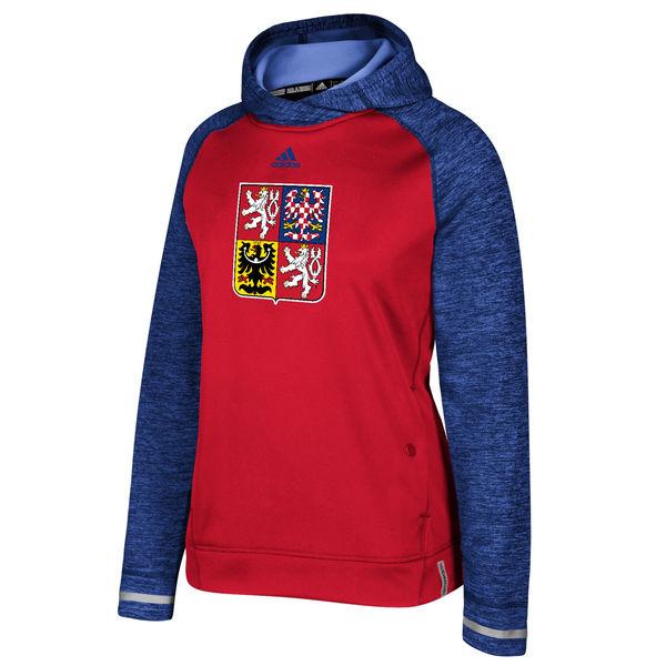 Adidas Dámská Mikina Team Czech Republic Pullover Hoodie Světový pohár 2016 Velikost: S