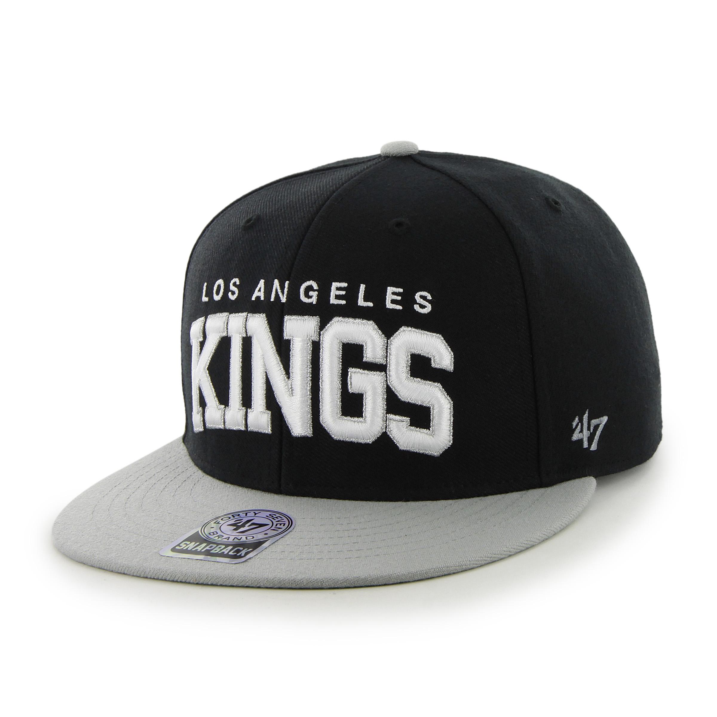 47 Brand Kšiltovka Los Angeles Kings Blockshed Snapback