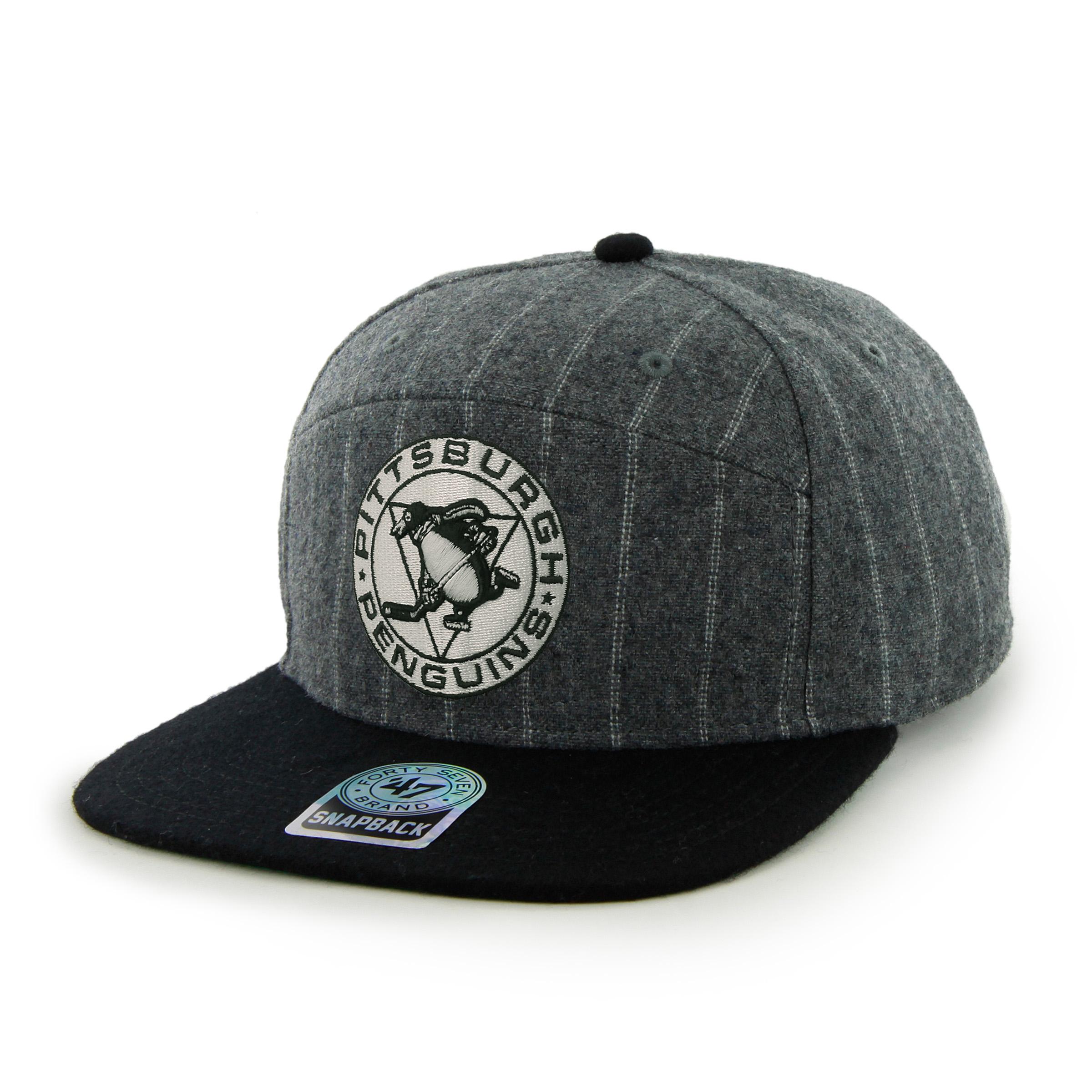 '47 Brand Kšiltovka Pittsburgh Penguins Adro II Snapback