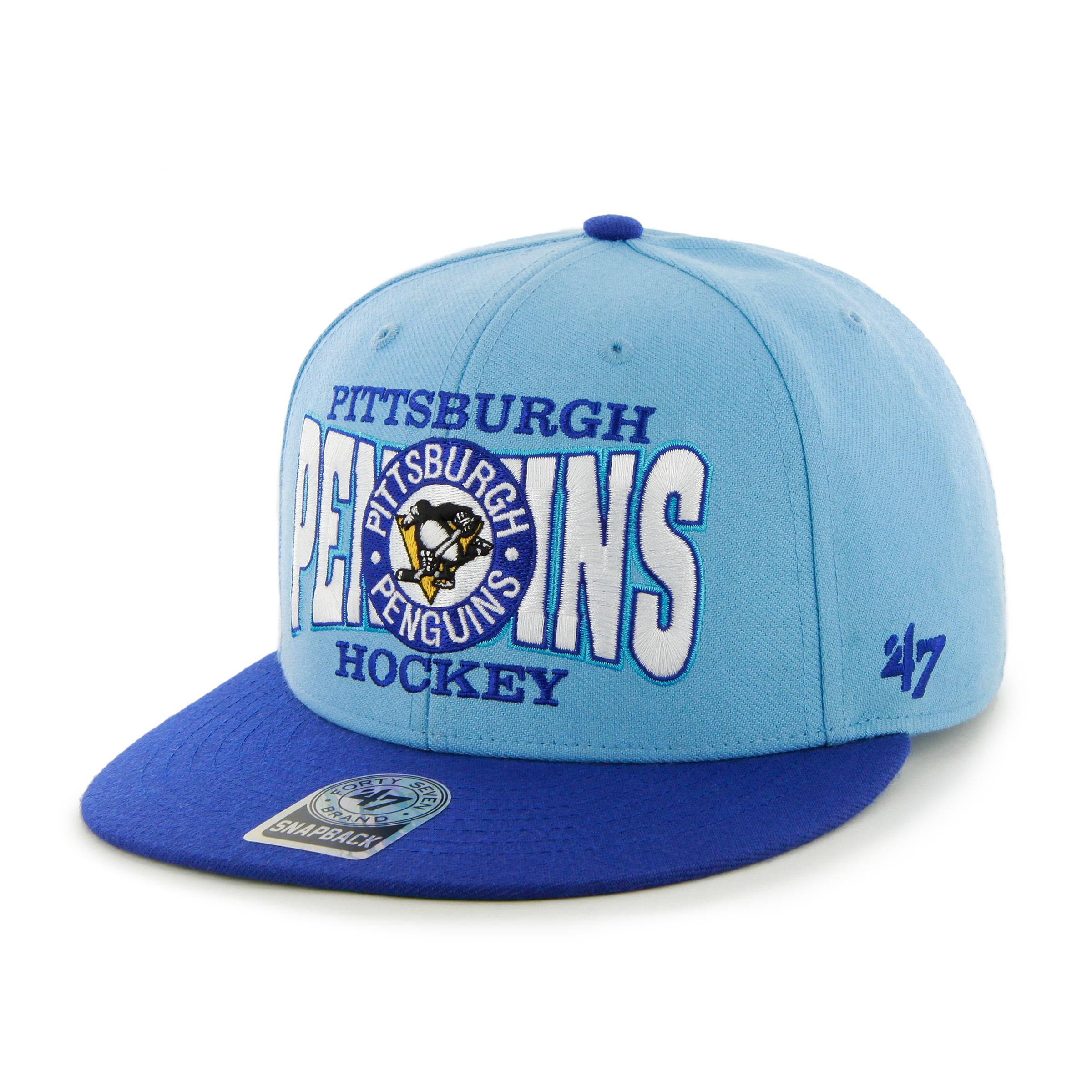 '47 Brand Kšiltovka Pittsburgh Penguins First Class Snapback