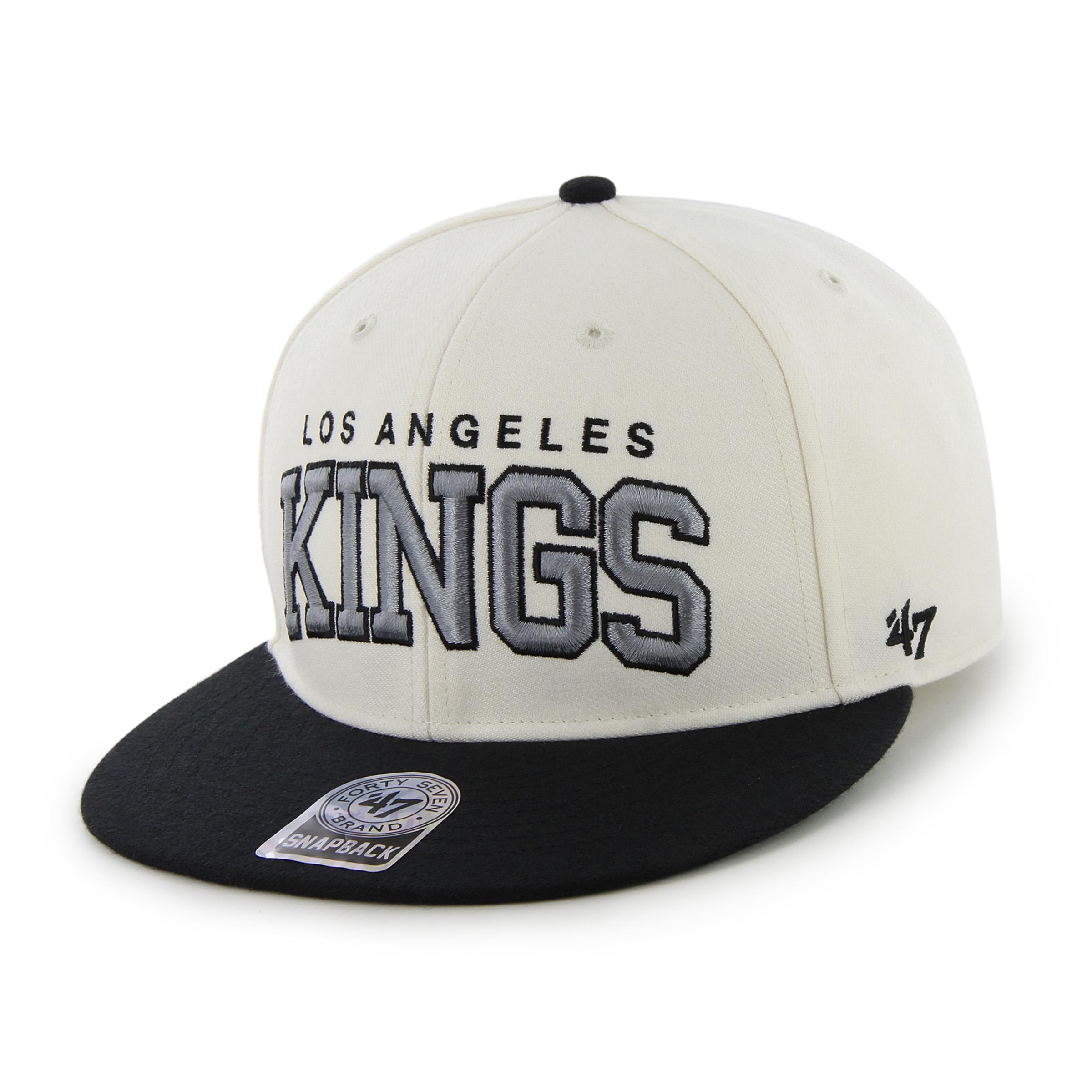 47 Brand Kšiltovka Los Angeles Kings Blockshed II Snapback