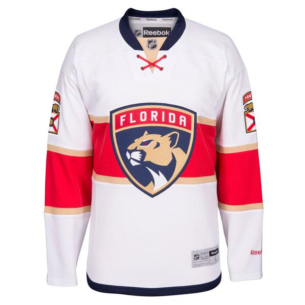 Reebok Dres Florida Panthers Premier Jersey Away Velikost: L, Distribuce: Kanada