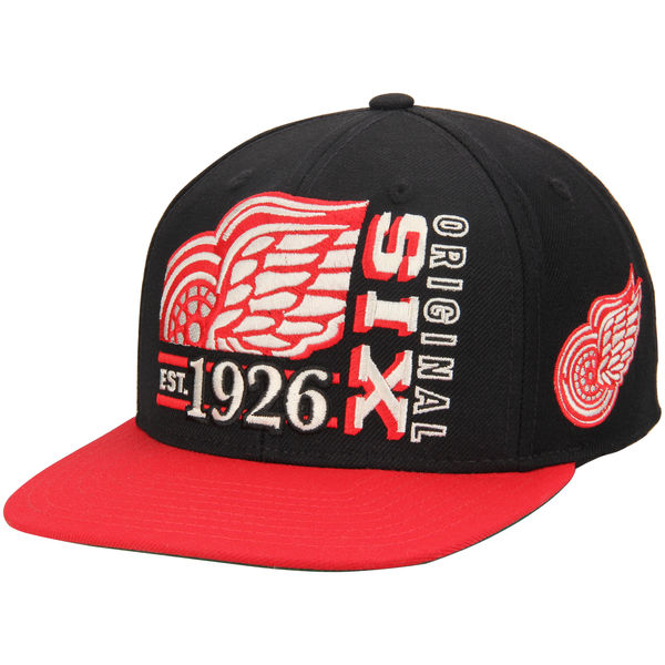CCM Kšiltovka Detroit Red Wings Original 6 Snapback Distribuce: USA