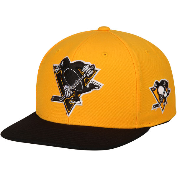 Reebok Kšiltovka Pittsburgh Penguins Two Tone Snapback Distribuce: USA