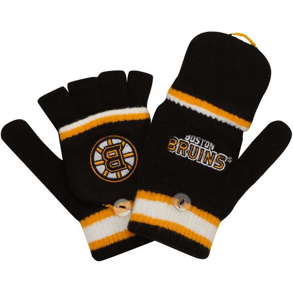 Reebok Dětské rukavice Boston Bruins Convertible Mittens Distribuce: USA