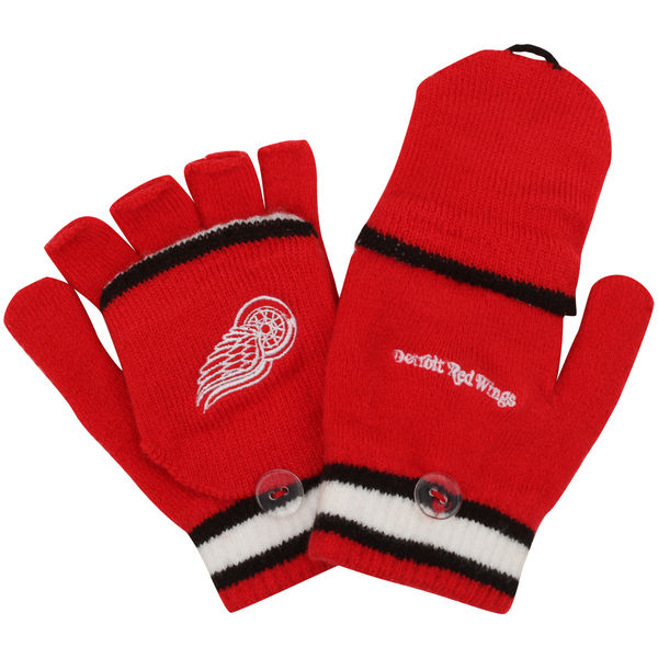 Reebok Dětské rukavice Detroit Red Wings Convertible Mittens Distribuce: USA