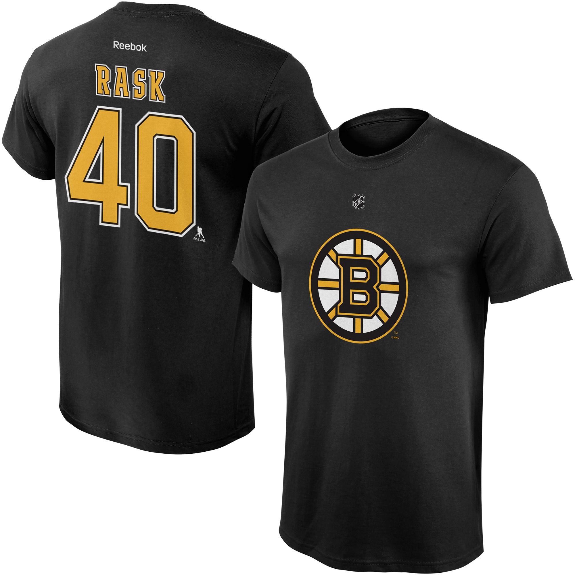 Reebok Dětské tričko Tuukka Rask Boston Bruins NHL Name & Number Velikost: Dětské M (9 - 11 let)