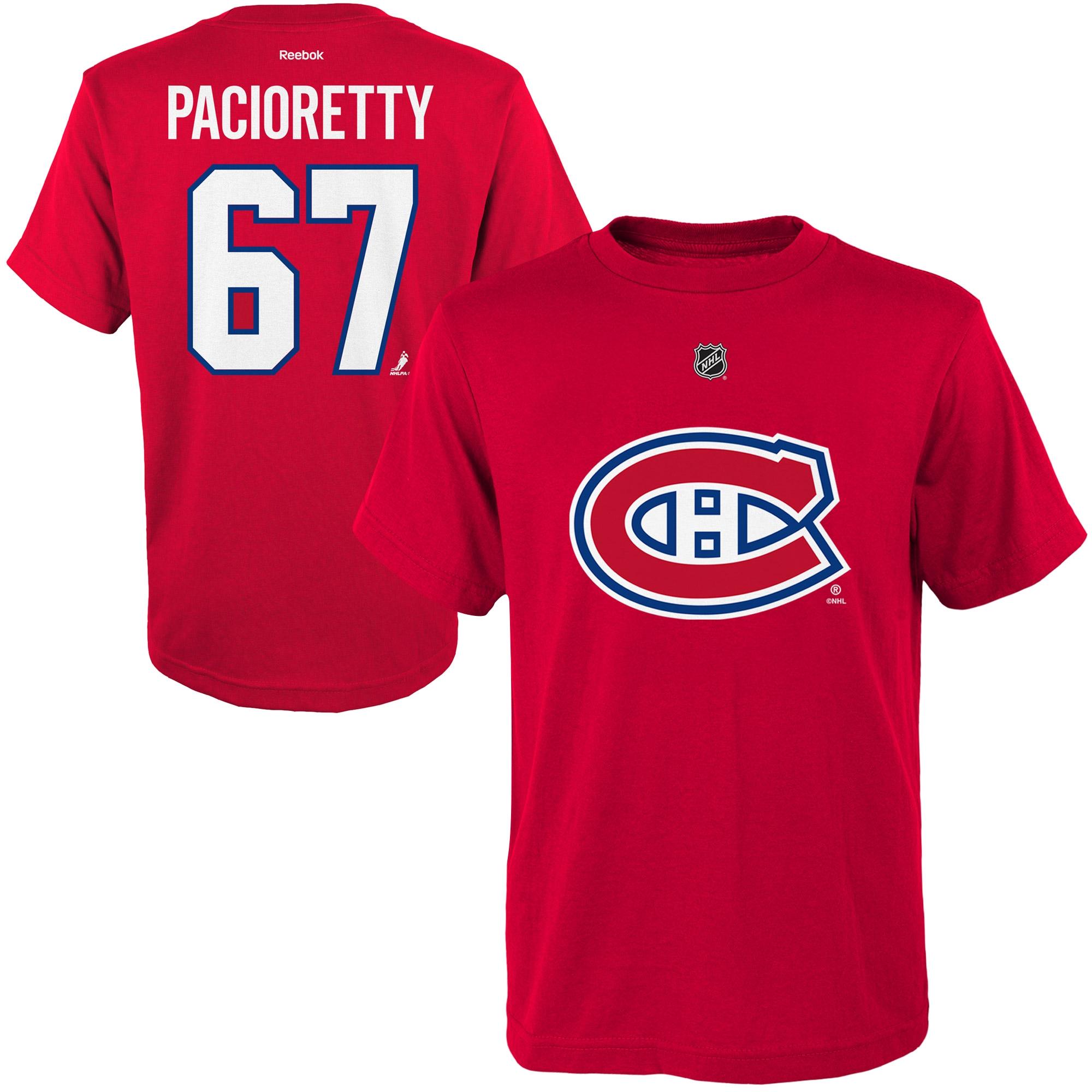 Reebok Dětské tričko Max Pacioretty Montreal Canadiens NHL Name & Number Velikost: Dětské M (9 - 11 let)