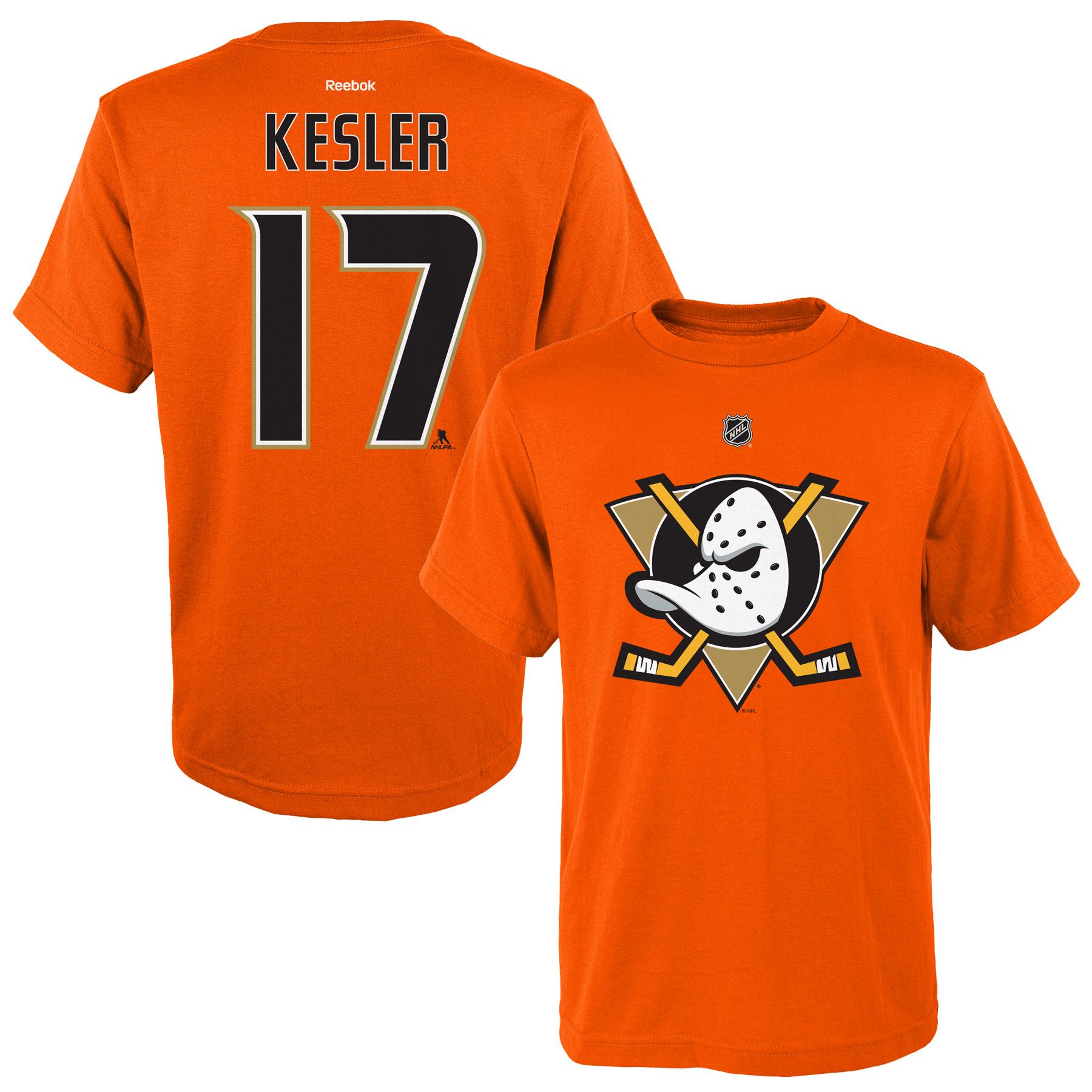 Reebok Dětské tričko Ryan Kesler Anaheim Ducks NHL Name & Number Velikost: Dětské M (9 - 11 let)