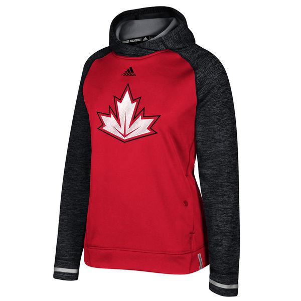Adidas Dámská mikina Team Canada Pullover Hoodie Světový Pohár 2016 Velikost: M