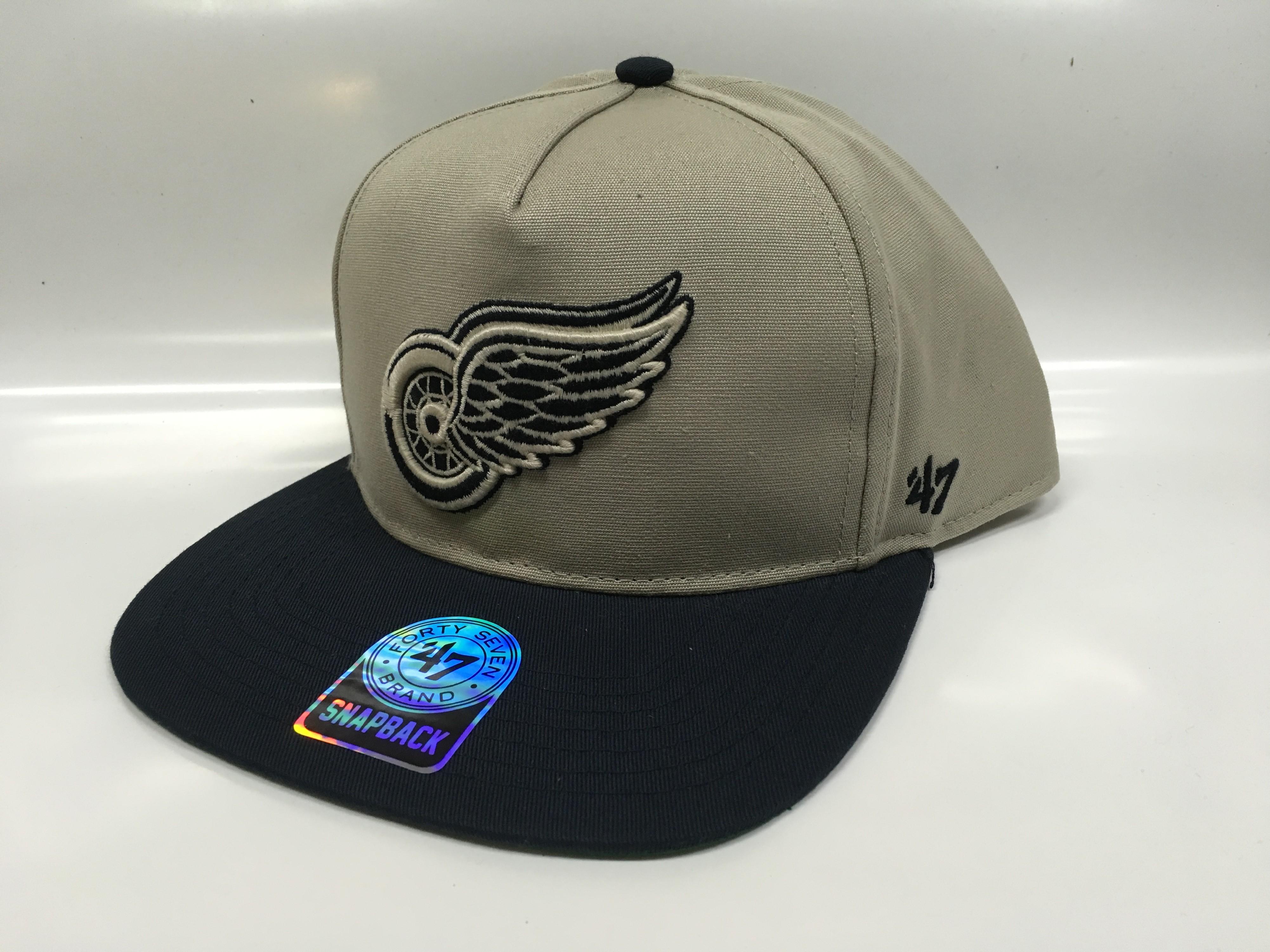 '47 Brand Kšiltovka Detroit Red Wings Chaff Two Tone Snapback