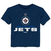 Reebok Dětské tričko Winnipeg Jets NHL Clean Cut Velikost: Dětské M (9 - 11 let)
