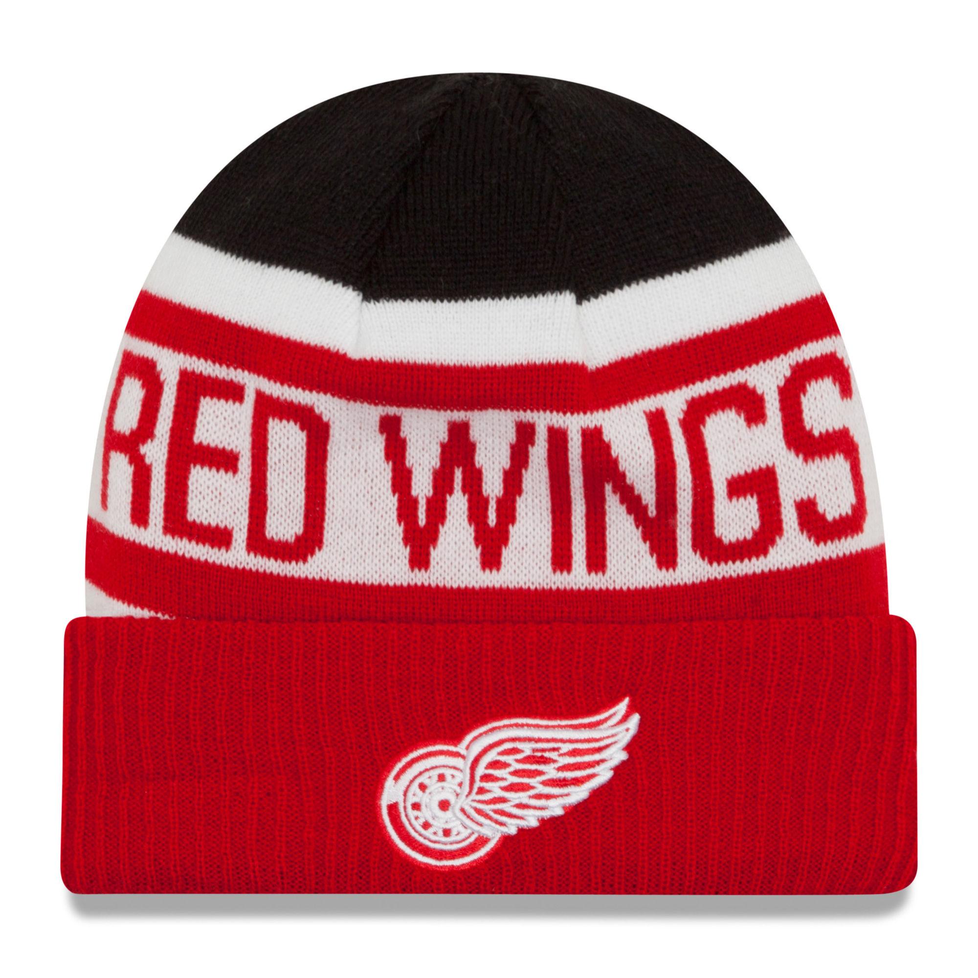 New Era Dětská zimní čepice Detroit Red Wings NHL Biggest Fan 2.0