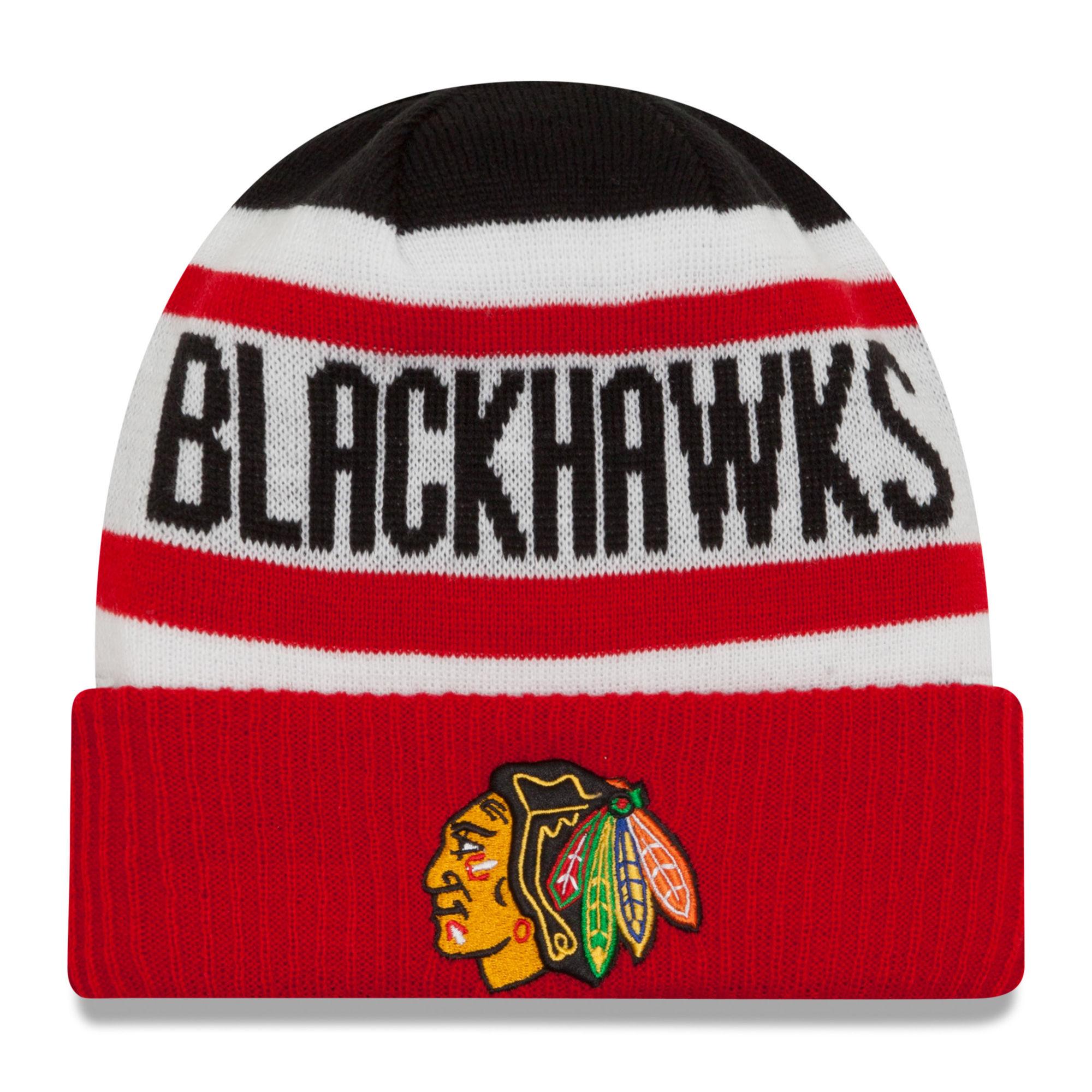 New Era Dětská zimní čepice Chicago Blackhawks NHL Biggest Fan 2.0