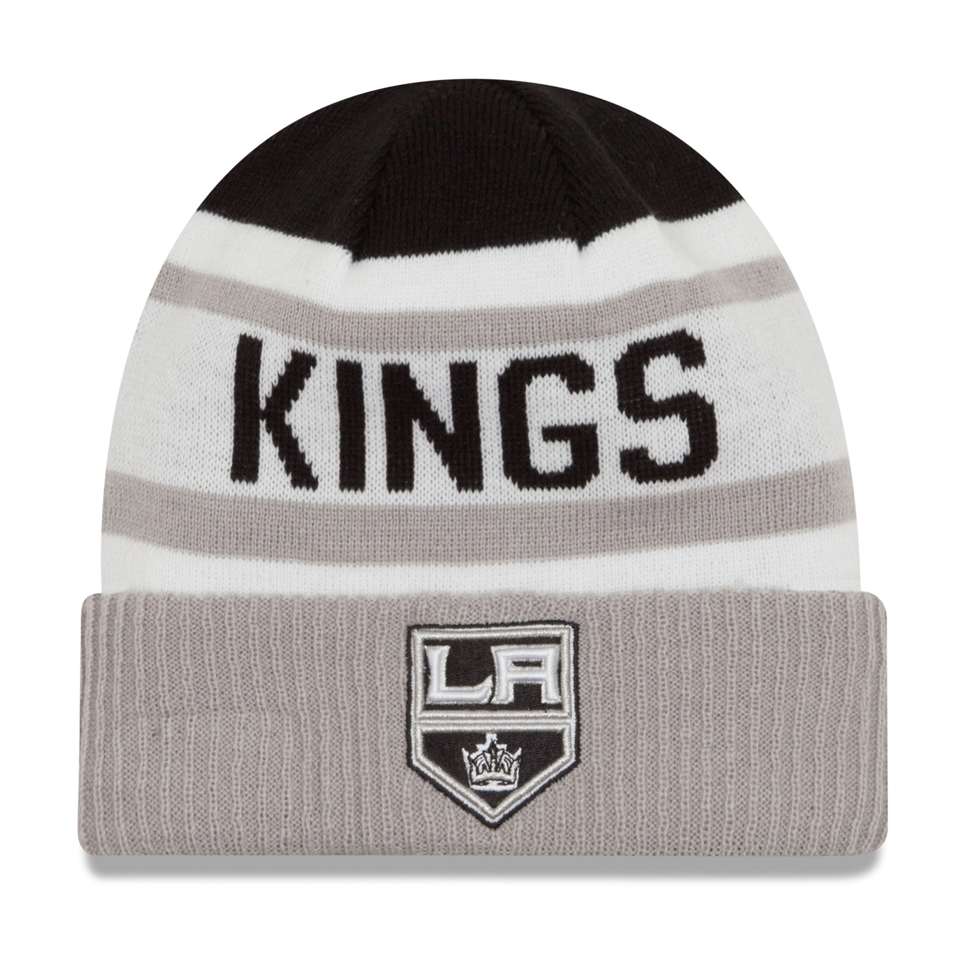 New Era Dětská zimní čepice Los Angeles Kings NHL Biggest Fan 2.0