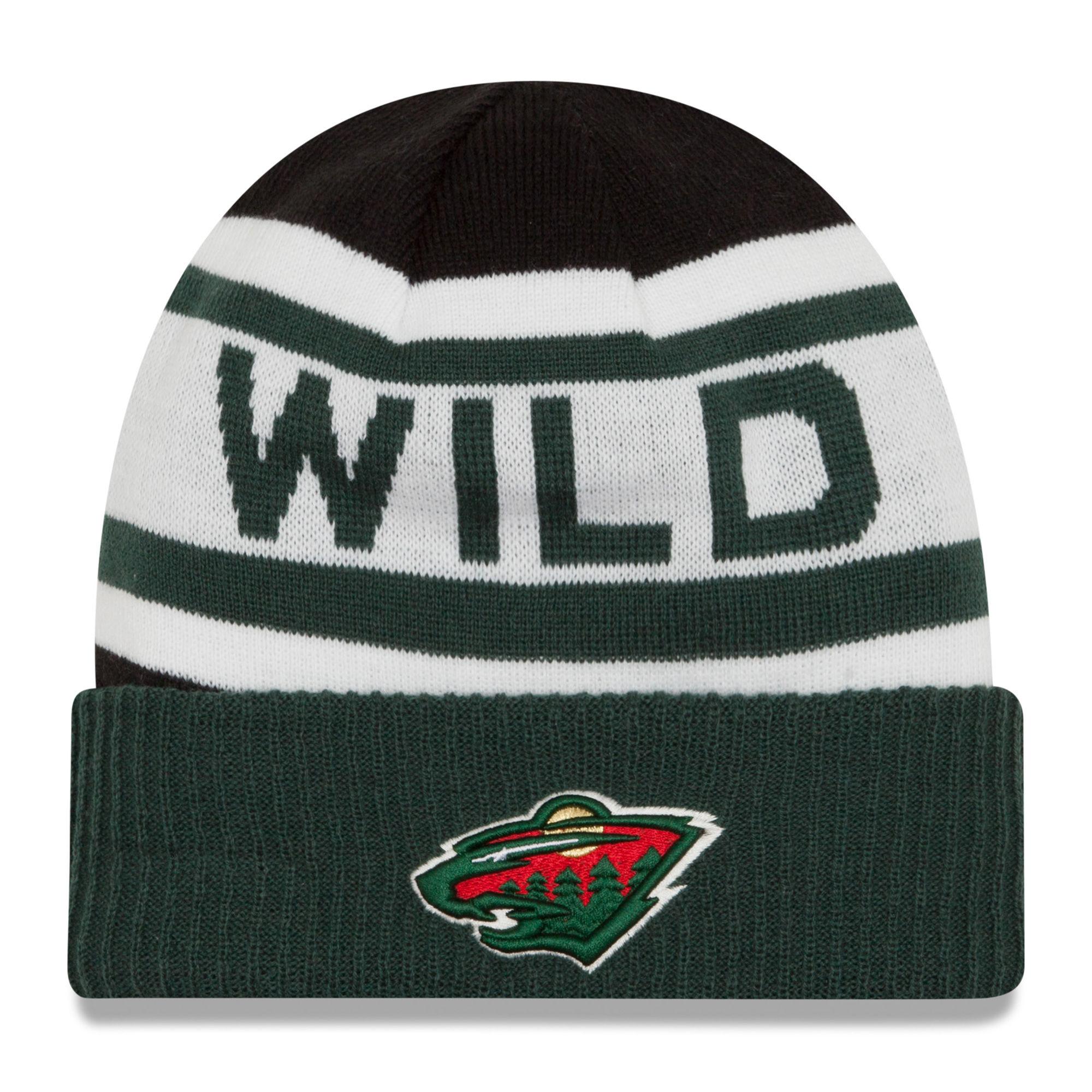 New Era Dětská zimní čepice Minnesota Wild NHL Biggest Fan 2.0