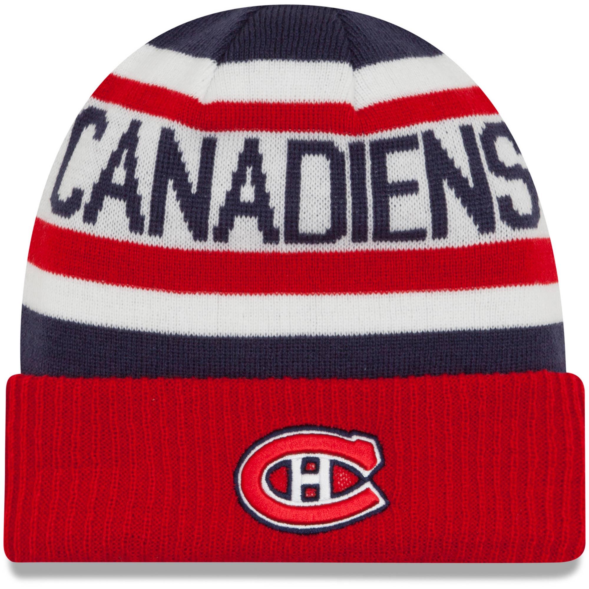 New Era Dětská zimní čepice Montreal Canadiens NHL Biggest Fan 2.0