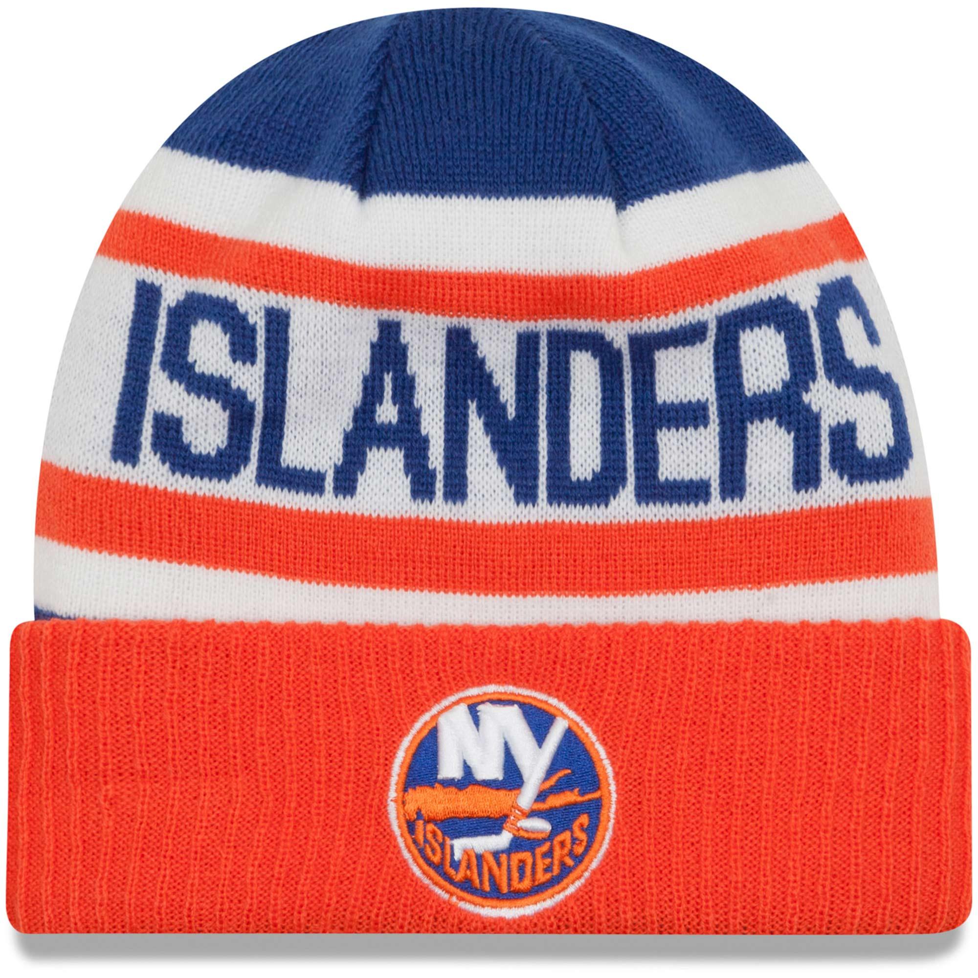 New Era Dětská zimní čepice New York Islanders NHL Biggest Fan 2.0