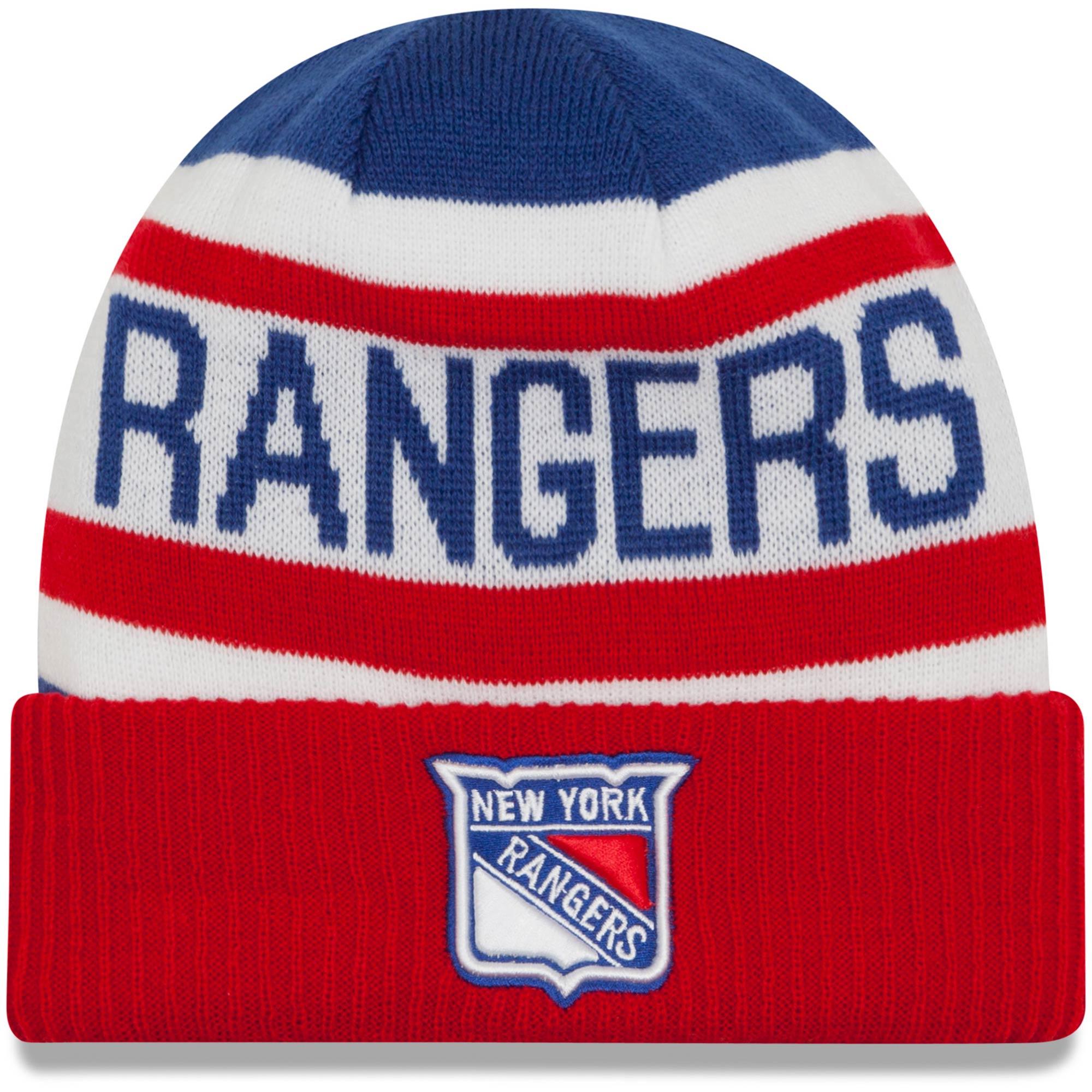 New Era Dětská zimní čepice New York Rangers NHL Biggest Fan 2.0