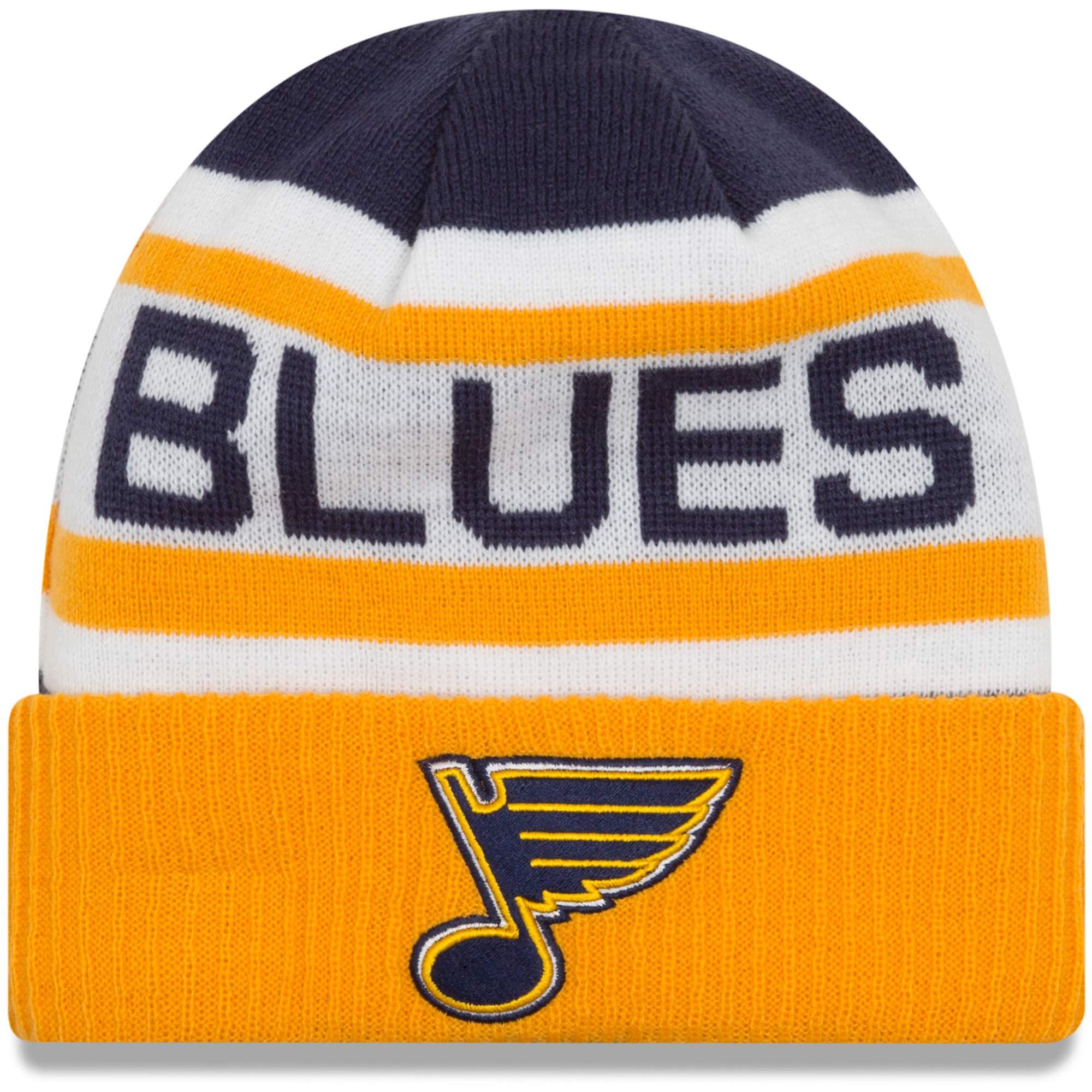 New Era Dětská zimní čepice St. Louis Blues NHL Biggest Fan 2.0
