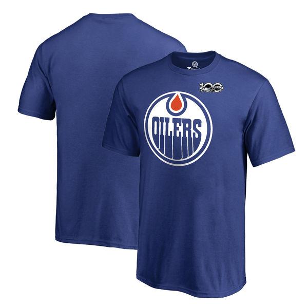 Fanatics Apparel Dětské tričko Edmonton Oilers 2017 NHL Centennial Season Velikost: Dětské S (6 - 8 let)