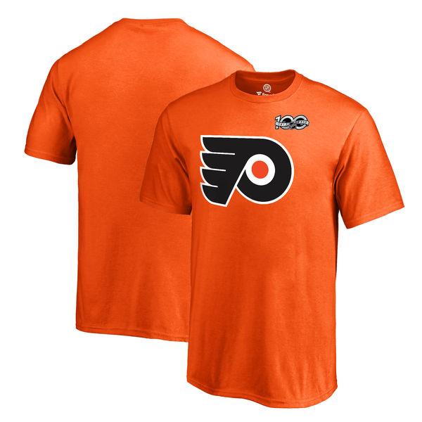 Fanatics Apparel Dětské tričko Philadelphia Flyers 2017 NHL Centennial Season Velikost: Dětské S (6 - 8 let)