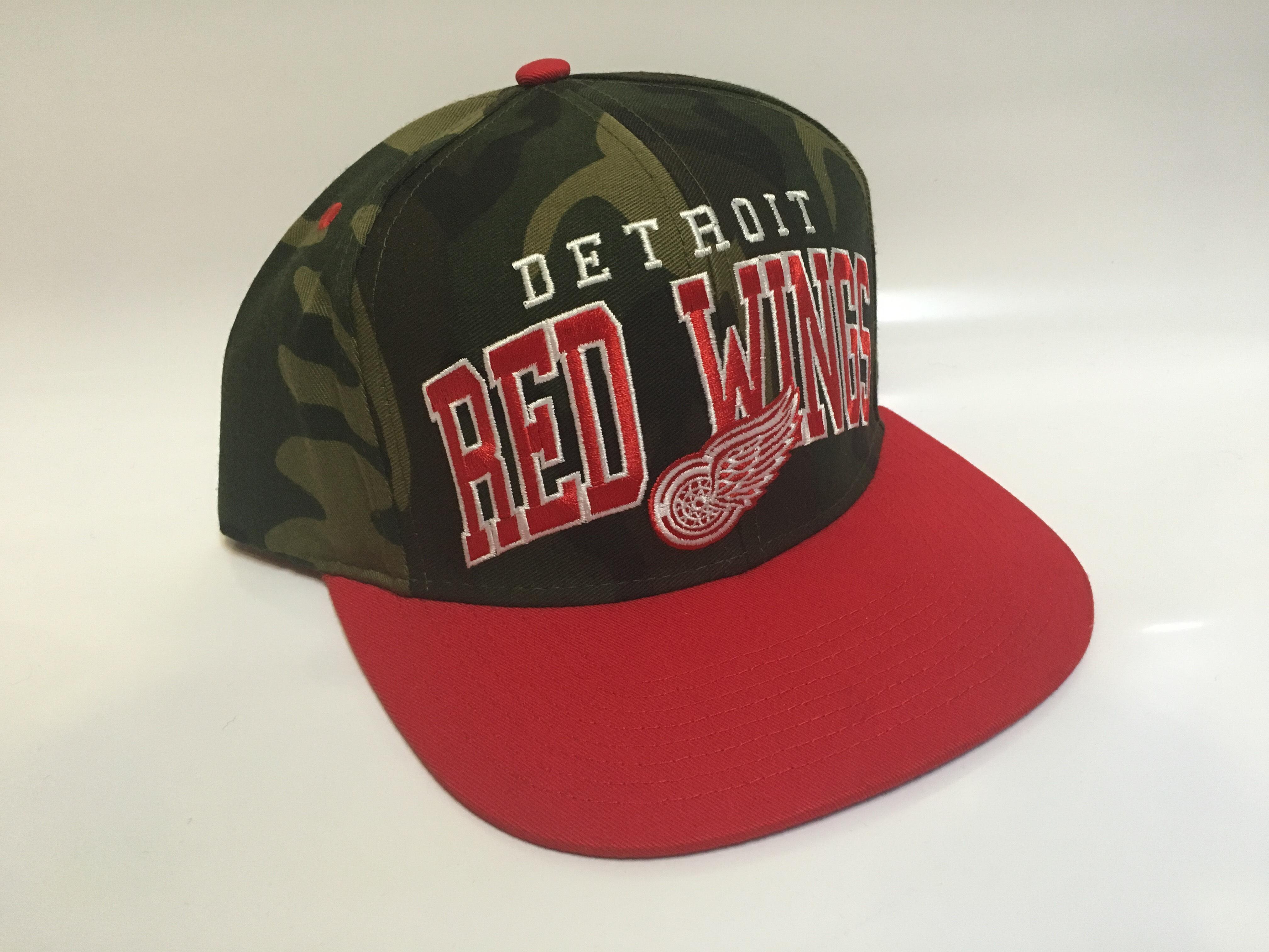 Reebok Kšiltovka Detroit Red Wings Camo Superstar Snapback