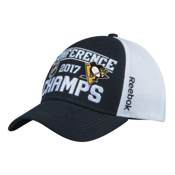 Reebok Kšiltovka Pittsburgh Penguins 2017 Eastern Conference Champions Locker Room