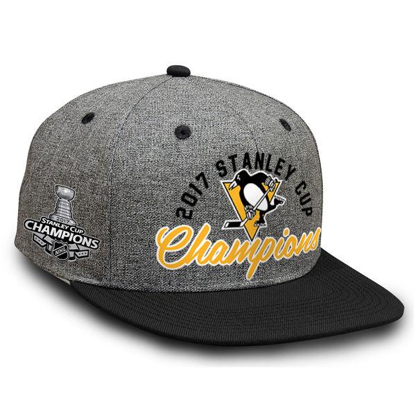 Fanatics Branded Kšiltovka Pittsburgh Penguins 2017 Stanley Cup Champions Snapback