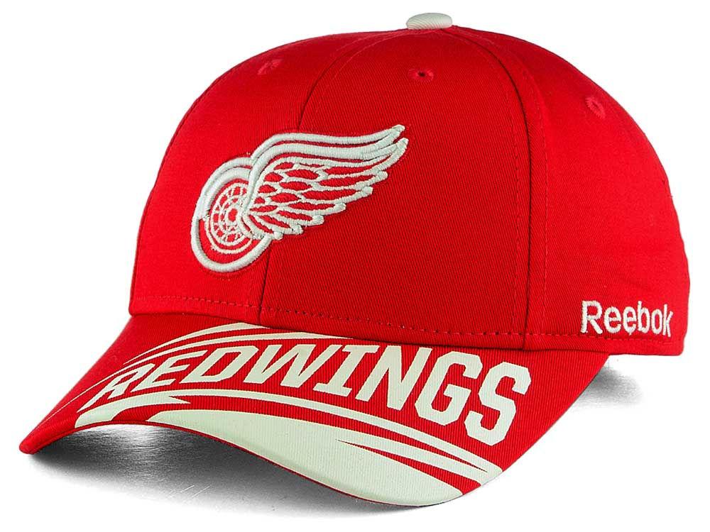 Reebok Dětská Kšiltovka Detroit Red Wings Left Wing Adjustable Cap