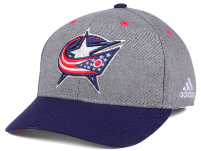Adidas Kšiltovka Columbus Blue Jackets 2Tone Adjustable