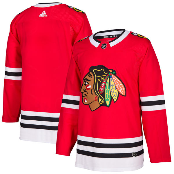 Adidas Dres Chicago Blackhawks adizero Home Authentic Pro Velikost: 50 (L), Distribuce: USA