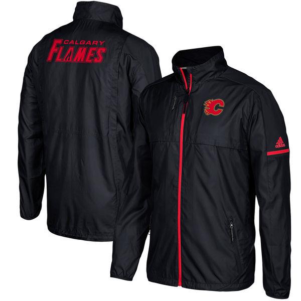 Adidas Bunda Calgary Flames Authentic Rink Full-Zip Jacket Velikost: S
