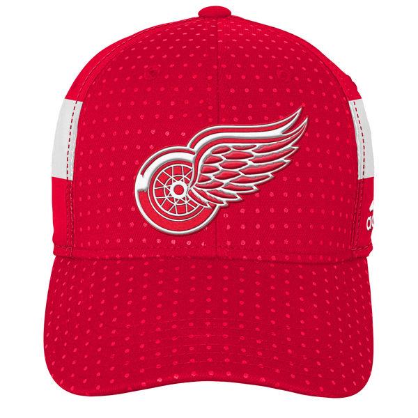 Adidas Dětská Kšiltovka Detroit Red Wings Draft 2017