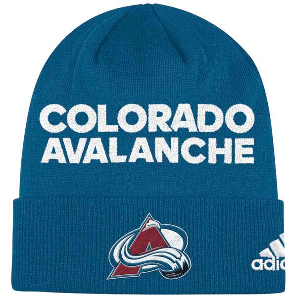 Adidas Zimní Čepice Colorado Avalanche Locker Room 2017