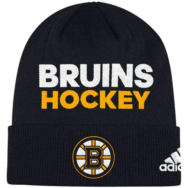 Adidas Zimní Čepice Boston Bruins Locker Room 2017
