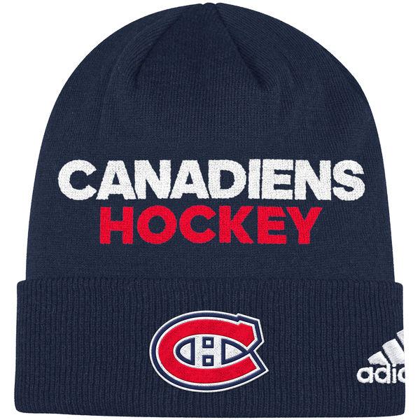 Adidas Zimní Čepice Montreal Canadiens Locker Room 2017