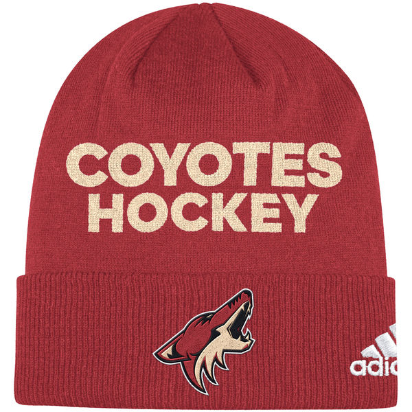Adidas Zimní Čepice Arizona Coyotes Locker Room 2017