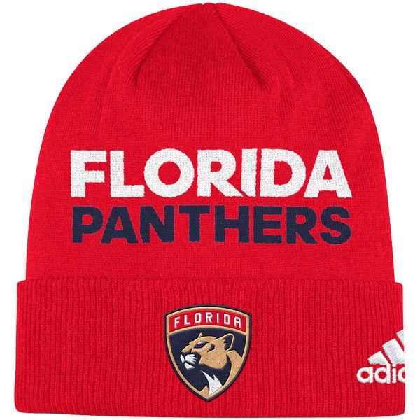 Adidas Zimní Čepice Florida Panthers Locker Room 2017