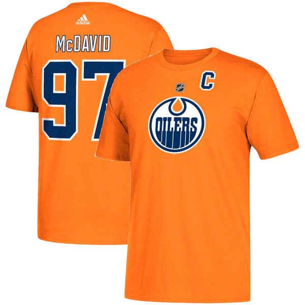 Adidas Tričko #97 Connor McDavid Edmonton Oilers Velikost: S