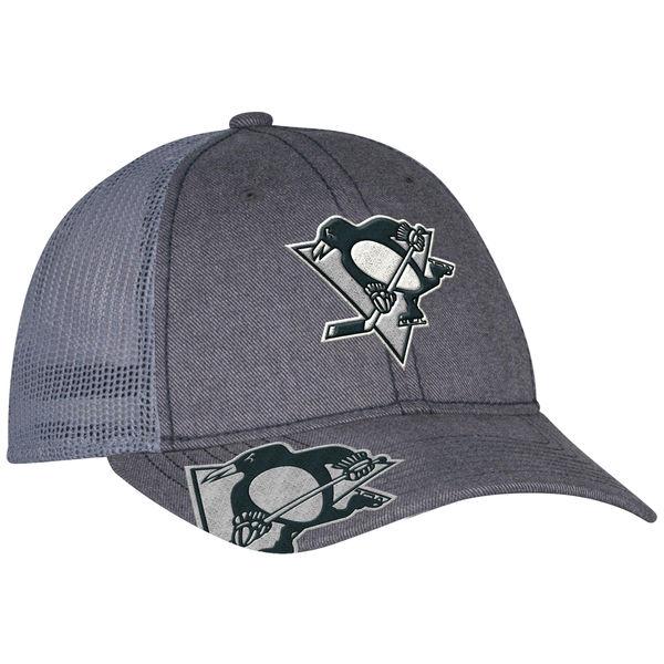 Adidas Kšiltovka Pittsburgh Penguins Travel & Training Slouch