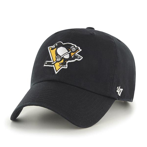 '47 Brand Kšiltovka Pittsburgh Penguins 47 Clean Up