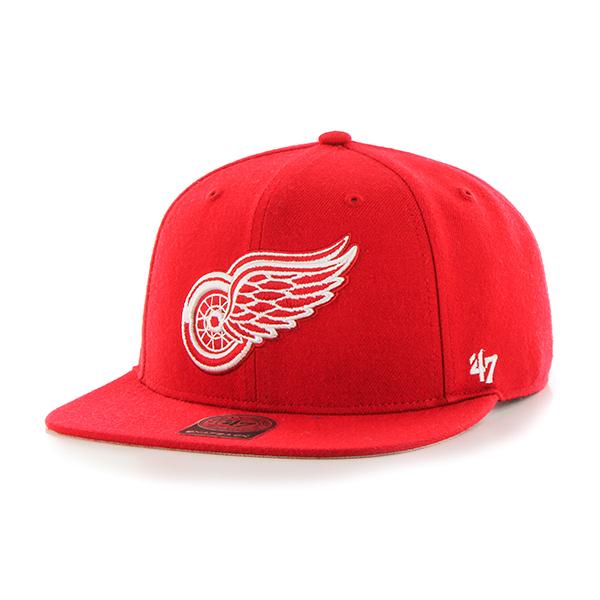 '47 Brand Kšiltovka Detroit Red Wings 47 Captain Sure Shot