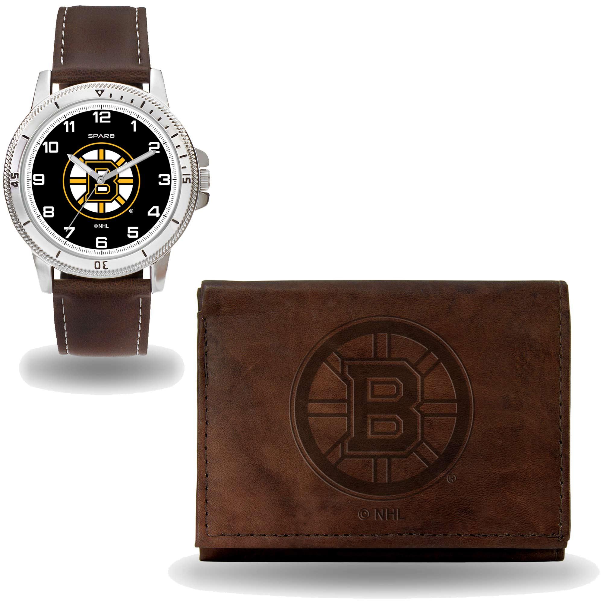 Set hodinky a peněženka Boston Bruins NHL Sparo Distribuce: USA