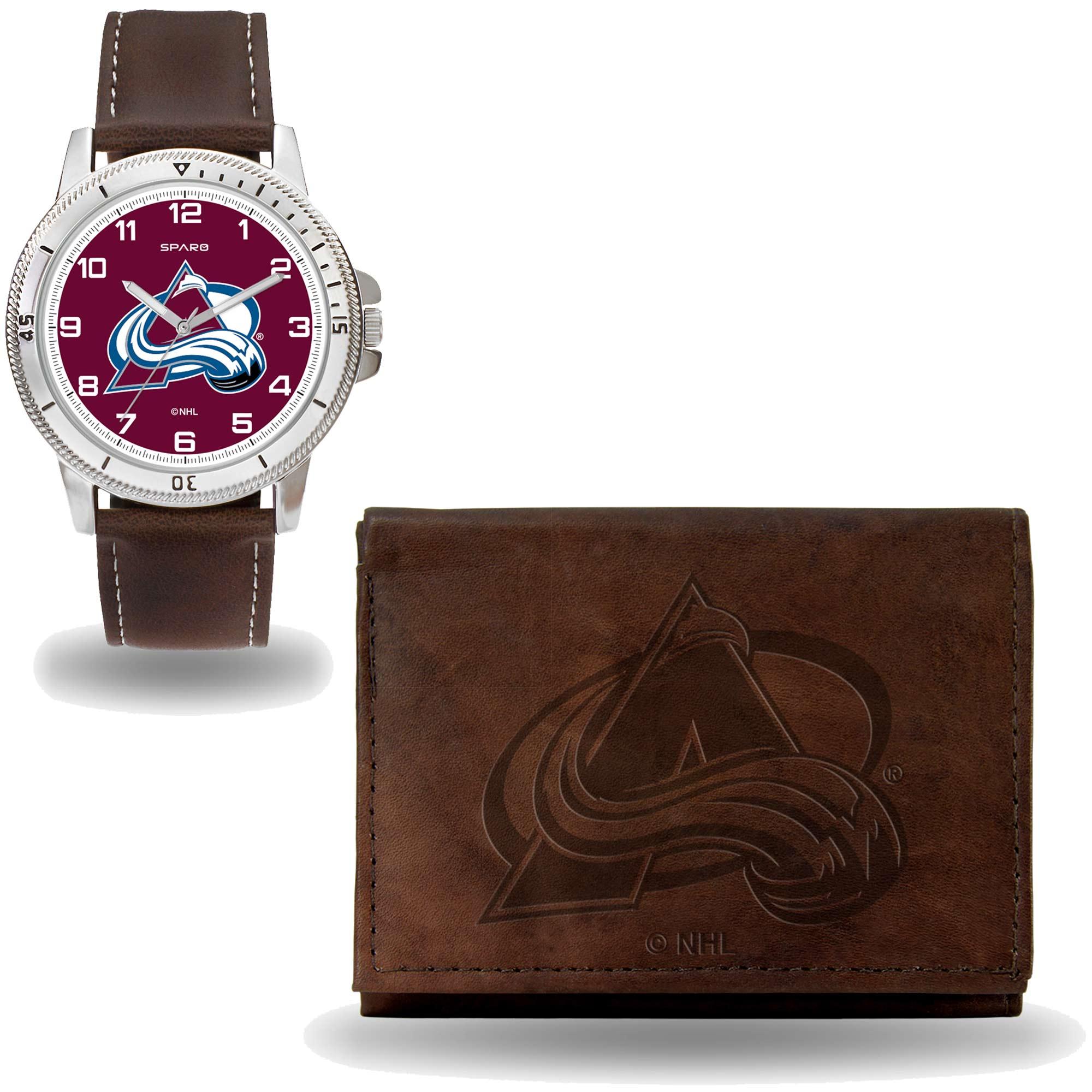 Set hodinky a peněženka Colorado Avalanche NHL Sparo Distribuce: USA