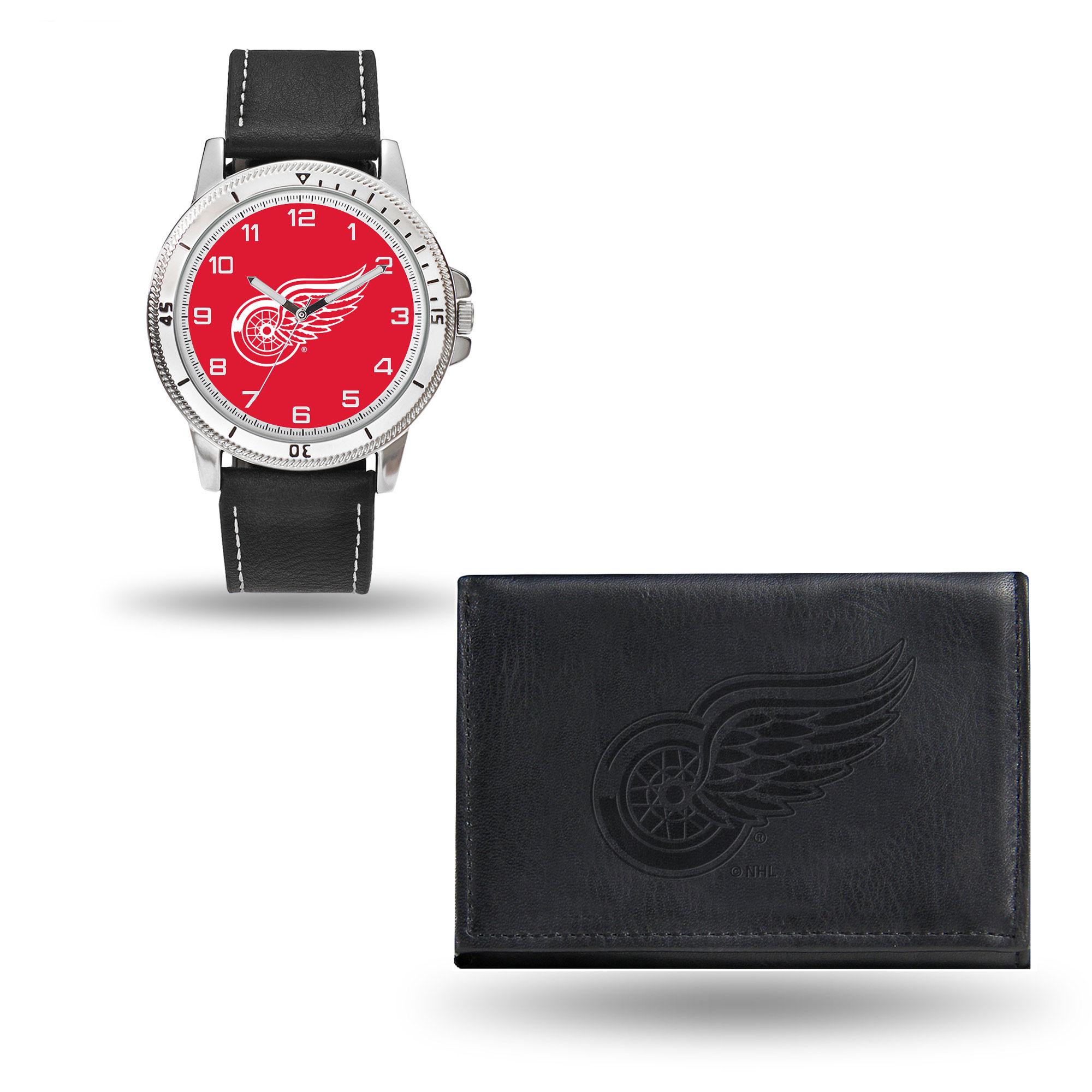 Set hodinky a peněženka Detroit Red Wings NHL Sparo Distribuce: USA